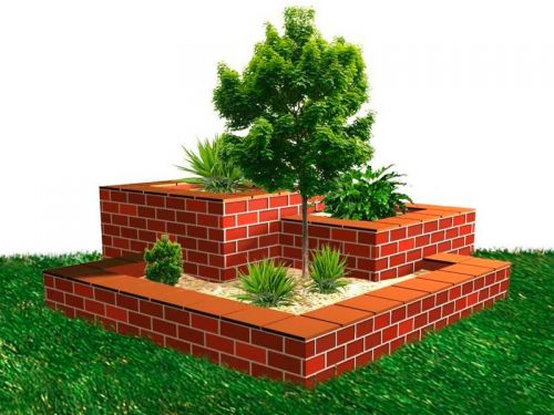 Build Your Own Stepped Flower Box Clay Brick Association Of South