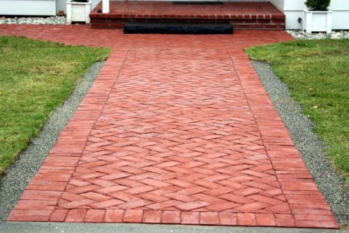 19 Clay Bricks Paths And Patios Clay Brick Association